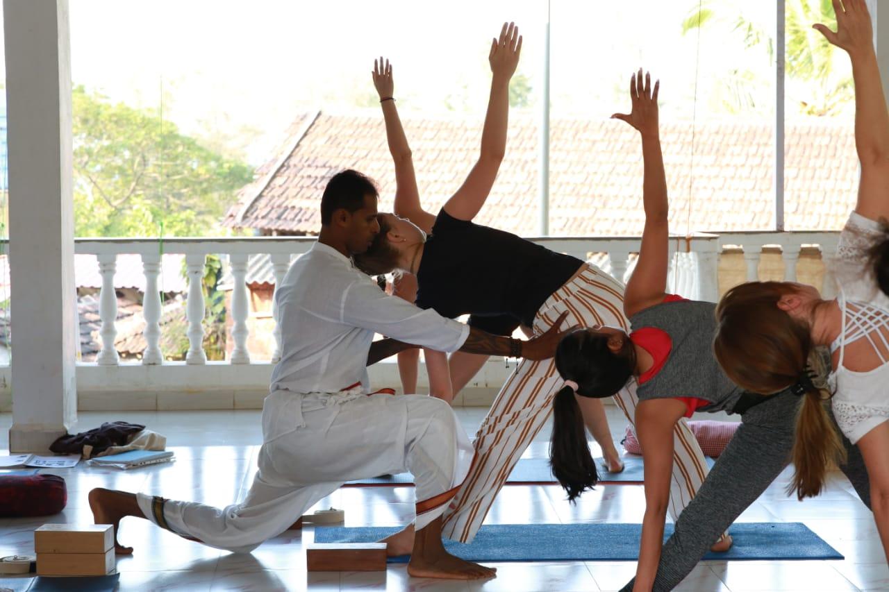 best yoga teacher in goa